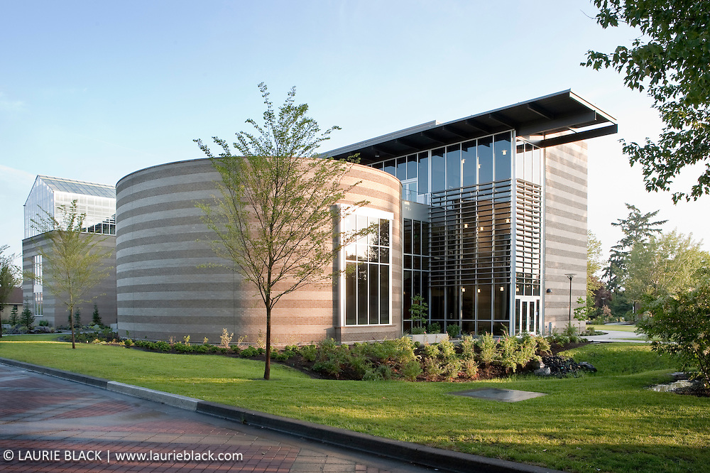 Contemporary college exterior architecture