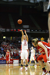 28 January 2007: Ashley Sandstead.  Before a record crowd or nearly 4200, the Bradley Braves were defeated by the conference leading (9-0) Redbirds of Illinois State University by a score of 55-47 at Redbird Arena in Normal Illinois.