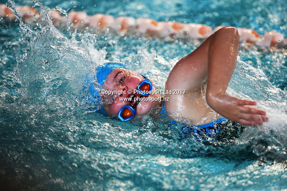 NELSON, NEW ZEALAND - APRIL 9: Nelson Tasman primary school swimming finals at the Richmond Aquatic Centre on April 9 2017 in Nelson, New Zealand. (Photo by: Chris Symes/www.photosport.nz
