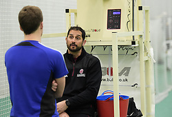 Somerset bowling coach Jason Kerr. - Mandatory byline: Alex Davidson/JMP - 25/02/2016 - CRICKET - The Cooper Associates County Ground -Taunton,England - Somerset CCC  Media access - Pre-Season