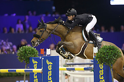 Kuipers Doron, (NED), Zinius<br /> Anemone Horse Trucks Grand Prix of Amsterdam<br /> Jumping Amsterdam 2016<br /> © Hippo Foto - Dirk Caremans<br /> 31/01/16