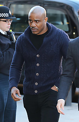 Rapper Mike GLC arriving at Westminster Magistrates Court in London,  Thursday, 19th December 2013. Picture by Stephen Lock / i-Images