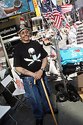 5 May 2010- New York, New York- Lance Orton.Sr, the Unsung Hero of Times Square Bombing Attempt at the corner of West 45th and Seventh Avenue in front of Viacom Building on May 5, 2010 in New York City.
