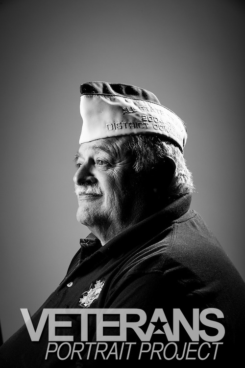 Frank S. Romeo<br /> Army<br /> E-6<br /> Small Arms Repairman<br /> 1965 - 1992<br /> Cold War, Vietnam<br /> <br /> Veterans Portrait Project<br /> St. Louis, MO