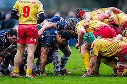 Bristol Rugby Prop Gaston Cortes - Mandatory byline: Rogan Thomson/JMP - 17/01/2016 - RUGBY UNION - Clifton Rugby Club - Bristol, England - Scarlets Premiership Select XV v Bristol Rugby - B&I Cup.