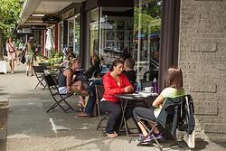 United States, Washington, Kirkland,  coffee shop.