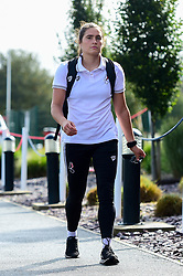 Eartha Cumings of Bristol City arrives at SGS College Stoke Gifford Stadium prior to kick off - Mandatory by-line: Ryan Hiscott/JMP - 29/09/2019 - FOOTBALL - SGS College Stoke Gifford Stadium - Bristol, England - Bristol City Women v Chelsea Women - FA Women's Super League