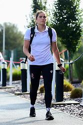 Eartha Cumings of Bristol City arrives at SGS College Stoke Gifford Stadium prior to kick off - Mandatory by-line: Ryan Hiscott/JMP - 29/09/2019 - FOOTBALL - SGS College Stoke Gifford Stadium - Bristol, England - Bristol City Women v Chelsea Women - FA Women's Super League