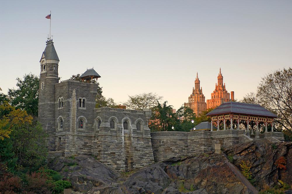 Belvedere Castle, Central Park, Manhattan, New York, New York, United States of America