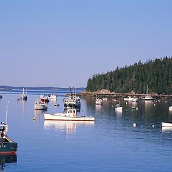 Stonington, ME. Stonington Harbor. Lobster boats.