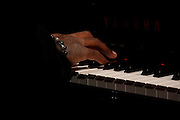 Chris Turner playing the keys
