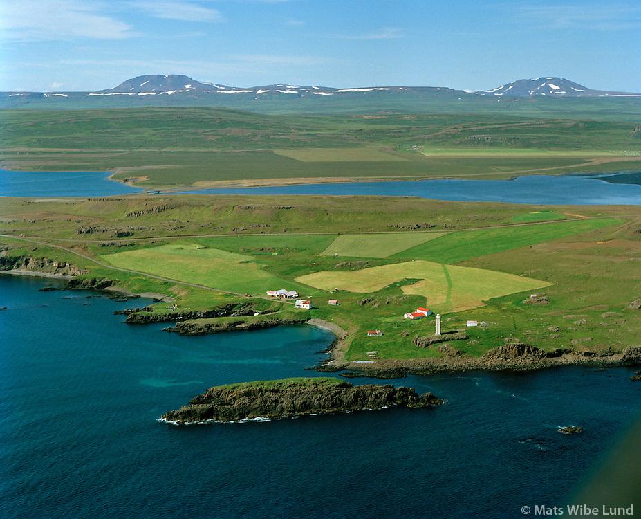 Leiðarhöfn séð til norðvesturs, Vopnafjarðarhreppur / Leidarhofn viewing northwest, Vopnafjardarhreppur.