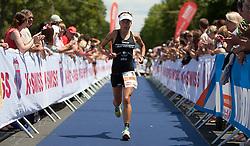 03.07.2011, Strandbad, Klagenfurt, AUT, Austria Ironman 2011, im Bild Nicole Woysch, GER, EXPA Pictures © 2011, PhotoCredit: EXPA/ M. Kuhnke