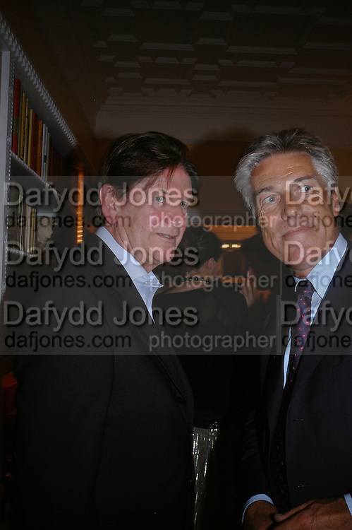 JOHN MADEJSKI and JOHN WICKHAM, Richard and Basia Briggs host a party to celebrate Leopold the Horse's 21st Birthday. 35 Sloane Gdns. London SW1. -DO NOT ARCHIVE-© Copyright Photograph by Dafydd Jones. 248 Clapham Rd. London SW9 0PZ. Tel 0207 820 0771. www.dafjones.com.
