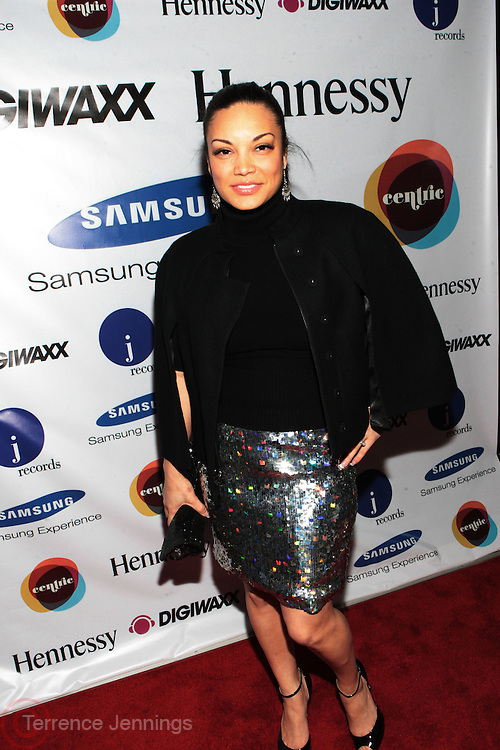 1 March 2011- New York, NY- Radio and TV Personality Eygpt at the record release party for Marsha Ambrosius's  debut solo album  ' Late Nights and Early Mornings ' presented by J Records, DIgiwaxx, Hennessey and BET Centric and held at the Samsung Experience at The Time Warner Center on March 1, 2011 in New York City. Photo Credit: Terrence Jennings