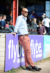 Exeter City's Manager Paul Tisdale  - Photo mandatory by-line: Harry Trump/JMP - Mobile: 07966 386802 - 06/04/15 - SPORT - FOOTBALL - Sky Bet League Two - Exeter City v Newport County - St James Park, Exeter, England.