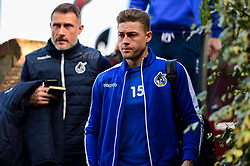 James Clarke of Bristol Rovers arrives at Roots Hall prior to kick off - Mandatory by-line: Ryan Hiscott/JMP - 02/02/2019 - FOOTBALL - Roots Hall - Southend-on-Sea, England - Southend United v Bristol Rovers - Sky Bet League One