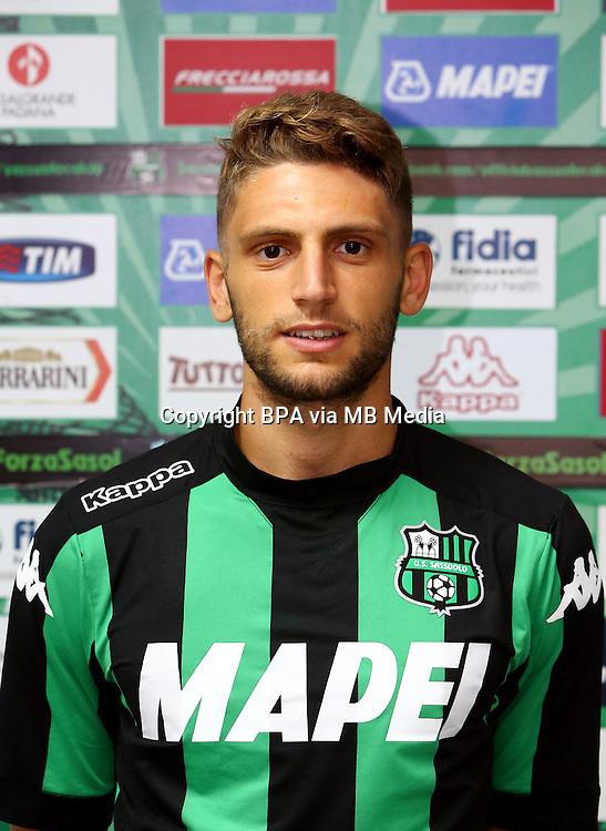 Italian League Serie A -2015-2016 / <br /> ( US Sassuolo Calcio ) - <br /> Domenico Berardi