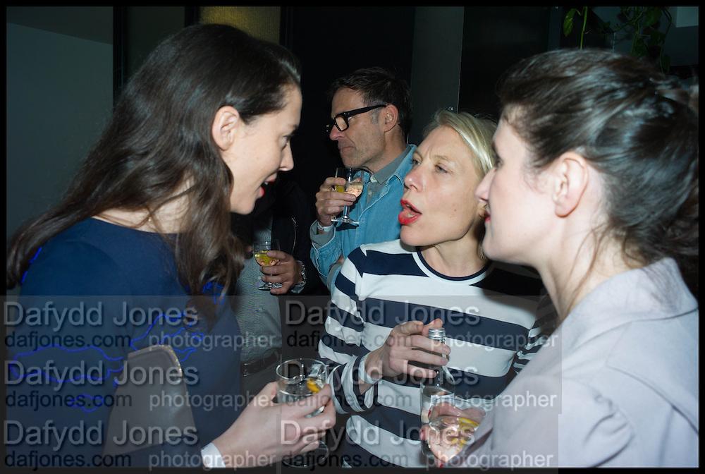 Lorena Muñoz-Alonso; BEATRIZX OLABRRIETA, Frieze party, ACE hotel Shoreditch. London. 18 October 2014