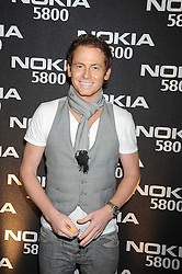 Actor JOE SWASH at the launch party of the Nokia 5800 phone held at PUNK 14 Soho Street, London W1 on 27th January 2009.