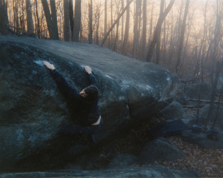 Gp Salvo on The Sushi Traverse, Old Rag Mountain, VA