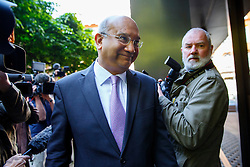 © Licensed to London News Pictures. 13/05/2015. LONDON, UK. Keith Vaz MP attending Labour's National Executive Committee meeting to finalise leadership election arrangements at The Labour Party London Office on Wednesday, 13 May 2015. Photo credit : Tolga Akmen/LNP