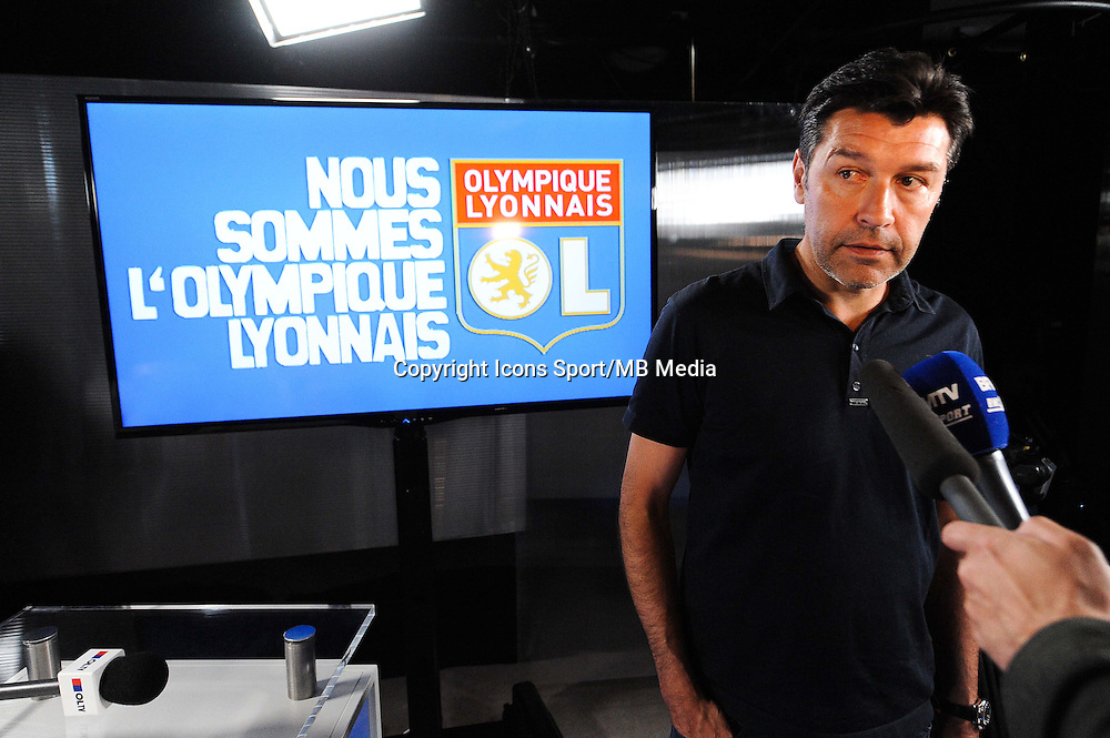 Hubert FOURNIER - 01.06.2015 - Presentation du nouveau joueur de Lyon<br />