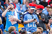 NASHVILLE, TN - OCTOBER 25:  Fans of the Tennessee Titans in the stands with their cell phones during a game against the Atlanta Falcons at Nissan Stadium on October 25, 2015 in Nashville, Tennessee.  The Falcons defeated the Titans 10-7.  (Photo by Wesley Hitt/Getty Images) *** Local Caption ***