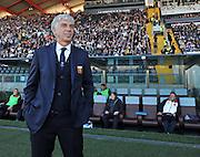 Udine, 02 novembre 2014.<br /> Serie A 2014/2015 10^ giornata. <br /> Stadio Friuli.<br /> Udinese vs Genoa.<br /> Nella foto: Gian Piero Gasperini l'allenatore del Genoa.<br /> © foto di Simone Ferraro