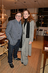 SEBASTIAN CONRAN and GERTRUDE THOME at a party to celebrate the launch of Conran Italia at The Conran Shop, Michelin House, 81 Fulham Road, London on 19th March 2015.