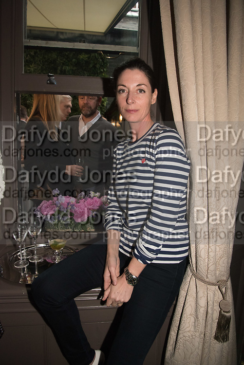 MARY MCCARTNEY,  The inaugural Cliveden Literary Festival announcement. Cadogan Gardens. London. 15 May 2017
