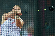 Great Britain, London - 2017 August 09: Wojciech Nowicki (Podlasie Bialystok) of Poland competes in men's hammer throw qualification during IAAF World Championships London 2017 Day 6 at London Stadium on August 09, 2017 in London, Great Britain.<br /> <br /> Mandatory credit:<br /> Photo by © Adam Nurkiewicz<br /> <br /> Adam Nurkiewicz declares that he has no rights to the image of people at the photographs of his authorship.<br /> <br /> Picture also available in RAW (NEF) or TIFF format on special request.<br /> <br /> Any editorial, commercial or promotional use requires written permission from the author of image.