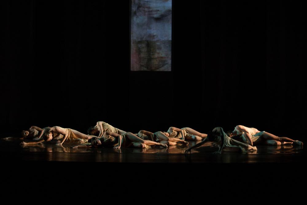 *Mystique*   Director: Christopher Pilafian   Dance: Santa Barbara Dance Theatre   Set Artwork: Mary Heebner   Dress Artwork: Ingrid Luna