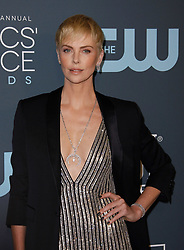 January 12, 2020, Santa Monica, CA, USA: SANTA MONICA, CA - JANUARY 13: Charlize Theron attends the 24th annual Critics' Choice Awards at Barker Hangar on January 12, 2020 in Santa Monica, California. Photo; CraSH/imageSPACE (Credit Image: © Imagespace via ZUMA Wire)