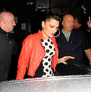 03.APRIL.2012. LONDON<br /> <br /> CELEBRITIES ATTEND BLACKBERRY'S BBM PARTY HELD AT PULSE IN SOUTH LONDON WHERE WRETCH 32 AND JESSIE J PERFORMED. LATER IN THE EVENING POLICE WERE CALLED AS SOMEONE WAS STABBED/SLASHED WITH A BROKEN GLASS!<br /> <br /> BYLINE: EDBIMAGEARCHIVE.COM<br /> <br /> *THIS IMAGE IS STRICTLY FOR UK NEWSPAPERS AND MAGAZINES ONLY*<br /> *FOR WORLD WIDE SALES AND WEB USE PLEASE CONTACT EDBIMAGEARCHIVE - 0208 954 5968*