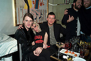 GARETH PUGH; CARSTEN MCALL; BEN REARDON, GQ Style party, The Bassoon Bar , The Corinthia Hotel, Whitehall Place London. 15 March 2011.  -DO NOT ARCHIVE-© Copyright Photograph by Dafydd Jones. 248 Clapham Rd. London SW9 0PZ. Tel 0207 820 0771. www.dafjones.com.