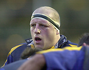 © Peter Spurrier/Intersport Images .Tel + 441494783165 email images@Intersport-images.com.27/12/2003 - Photo  Peter Spurrier.2003/04 Zurich Rugby Premiership Leicester v Leeds. Leeds Tykes's Matt Holt