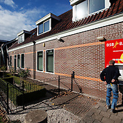 Nederland, Wognum,  , 12-10-2009  DSB bank pin automaat in Wognum buiten bedrijf. FOTO: Gerard Til /  Hollandse Hoogte