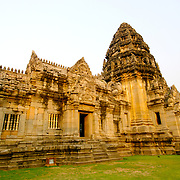 Prasat Hin Phimai Khmer temple at Khorat (Nakorn Ratchasima) in Thailand.  View is March 2007.