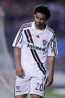 20091202: RIO DE JANEIRO, BRAZIL - South-American Cup 2009, Final: Fluminense vs LDU Quito. In picture: Fred (Fluminense) leaves the pitch after receiving a red card. PHOTO: CITYFILES