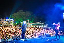 Nenhum de Nós durante a 25ª edição do Planeta Atlântida. O maior festival de música do Sul do Brasil ocorre nos dias 31 Janeiro e 01 de fevereiro, na SABA, praia de Atlântida, no Litoral Norte do Rio Grande do Sul. FOTO: <br /> André feltes/ Agência Preview