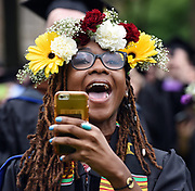Photo by Mara Lavitt<br /> New Haven, CT<br /> May 22, 2017<br /> Scenes from the Yale University Commencement. Yale School of Drama.