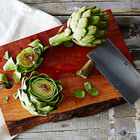 Zwilling Pro 7- Inch Chinese Chefs Knife and Vegetable Cleaver