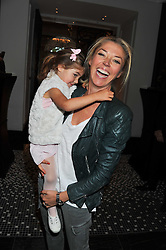 TAMARA VERONI and her daughter VIOLET at the launch of Stephen Webster Bijoux Tea held at the Langham Hotel, Portland Place, London on 13th September 2011.