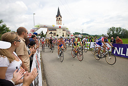 Start of race at Slovenian National Championships in Road cycling, 178 km, on June 28 2009, in Mirna Pec, Slovenia. (Photo by Vid Ponikvar / Sportida)