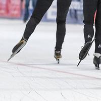 Foto's voor brochure schaatsclinics