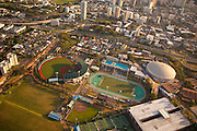 University of Hawaii athletic field, Honolulu, Oahu, Hawaii