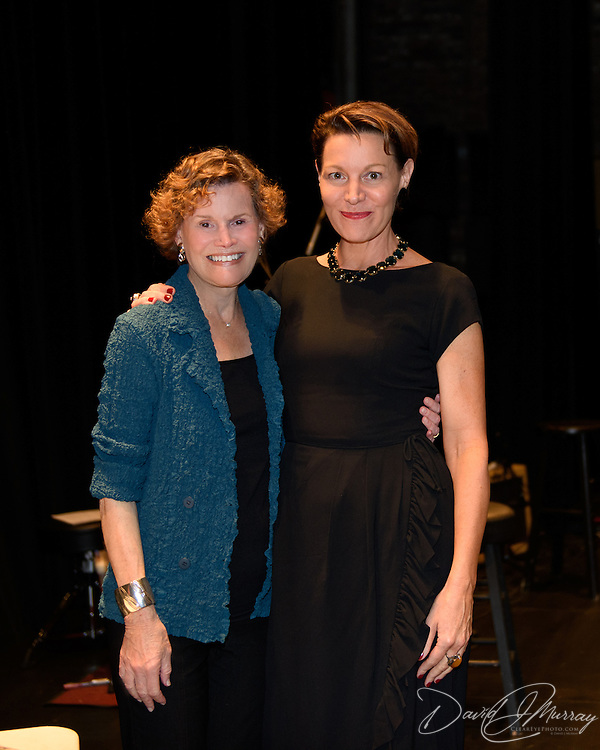 Judy Blume during backstage meet/greet after speaking at a Writers on a New England Stage show at The Music Hall in Portsmouth, NH