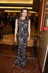 Emma Samms at The Asian Awards, The Hilton Park Lane, London England. 5 May 2017.<br /> Photo by Dominic O'Neill/SilverHub 0203 174 1069 sales@silverhubmedia.com