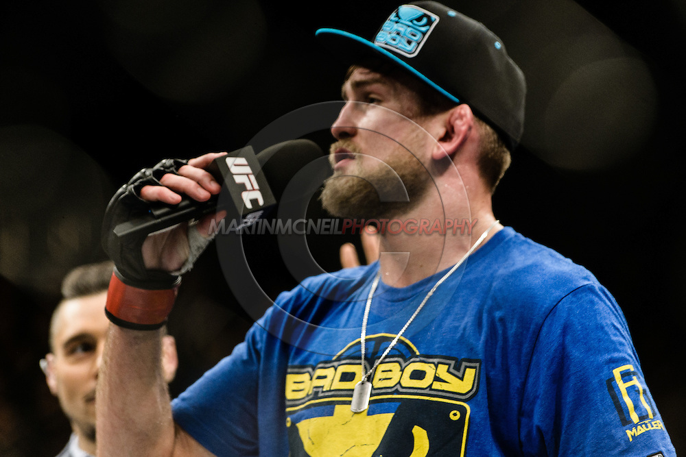 """LONDON, ENGLAND, MARCH 8, 2014: Alexander Gustafsson during """"UFC Fight Night: Gustafsson vs. Manuwa"""" inside the O2 Arena in Greenwich, London on Saturday, March 8, 2014 (© Martin McNeil)"""